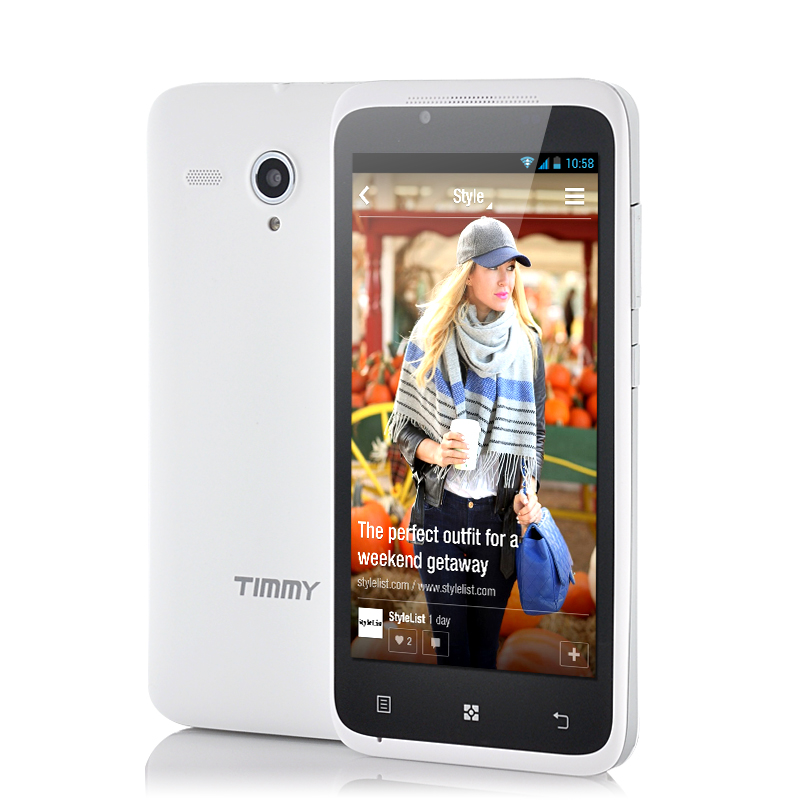 Timmy E128 4.5 Inch Android Phone (W)