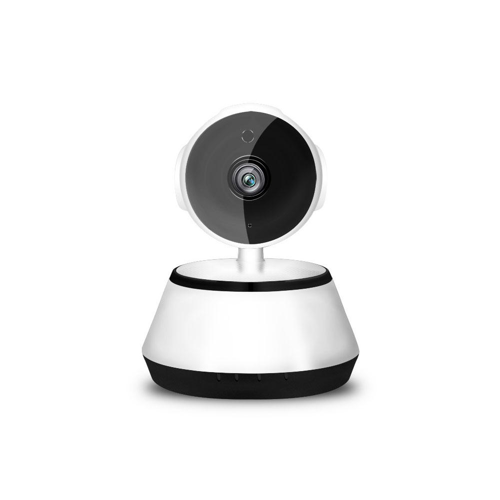 Home Security IP Camera Wireless Smart WiFi Camera WI-FI Audio Record Surveillance Baby Monitor White European Standard