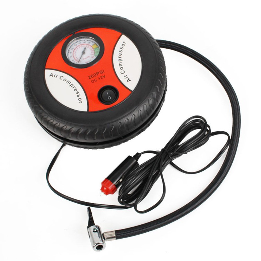 12v Car Air Pump 25 Cylinder Portable Electric Mini Tire Inflator Air Compressor  25 cylinder