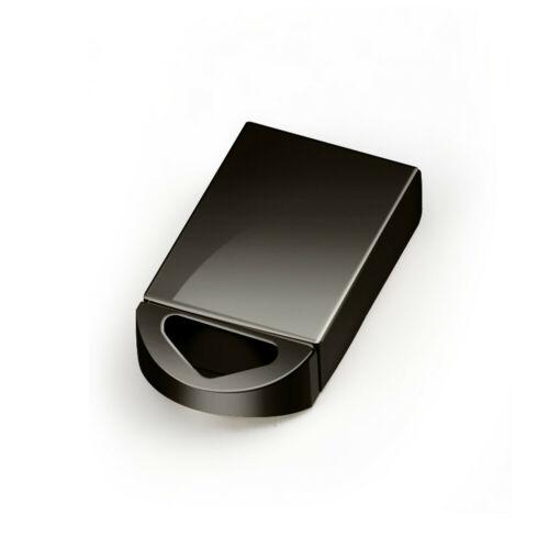 USB 2.0 8/16/32/64GB Flash Drives Memory Metal Flash Drives Pen Drive U Disk  black