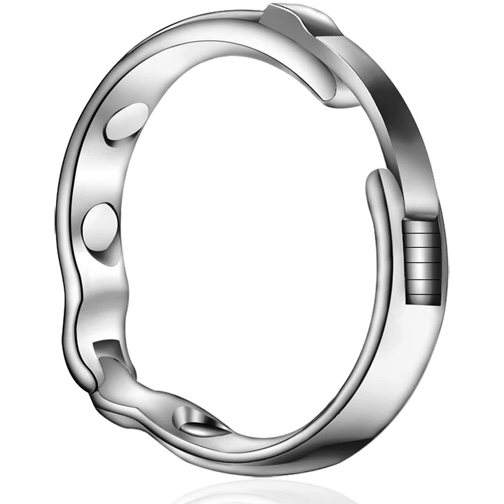 Metal Penis Ring For The Treatment Of Foreskin With Magnetic Therapy 24-26mm