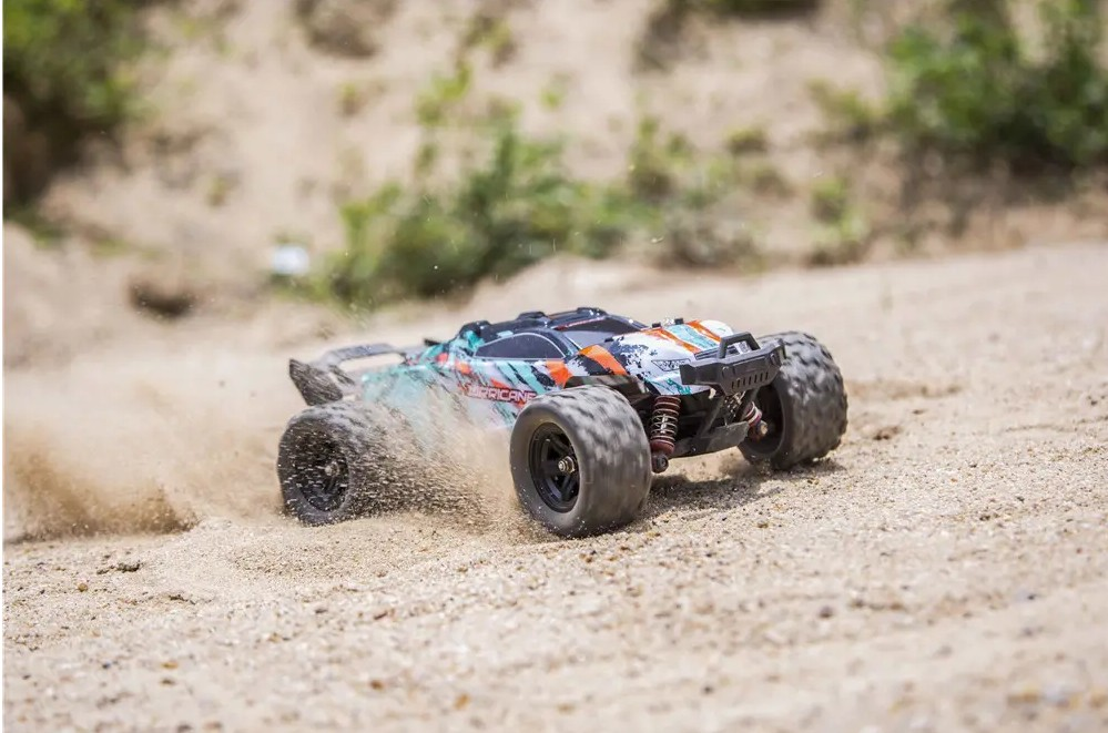 RC Car Model Proportional Control Big Foot Off-Road Truck RTR Vehicle HS 18322 1/18 2.4G 4WD 36km/h  18322