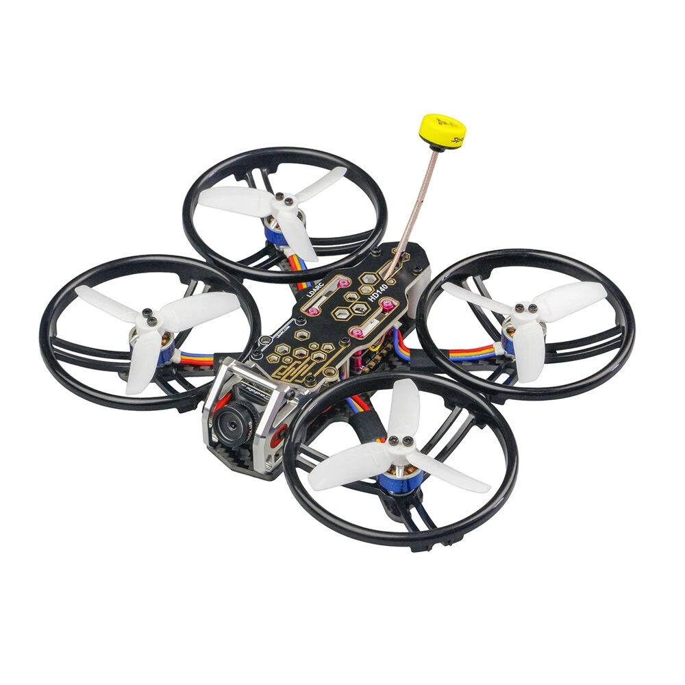 2.8 Inch 4S FPV Racing Drone for PNP/BNF F4 OSD 20A ESC Caddx.US Turtle V2 HD Cam LDARC/KINGKONG HD140 140mm  Without receiver KSX3882