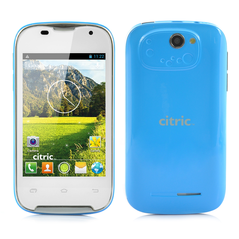 Dual Core Android 3G Smartphone (Blue)