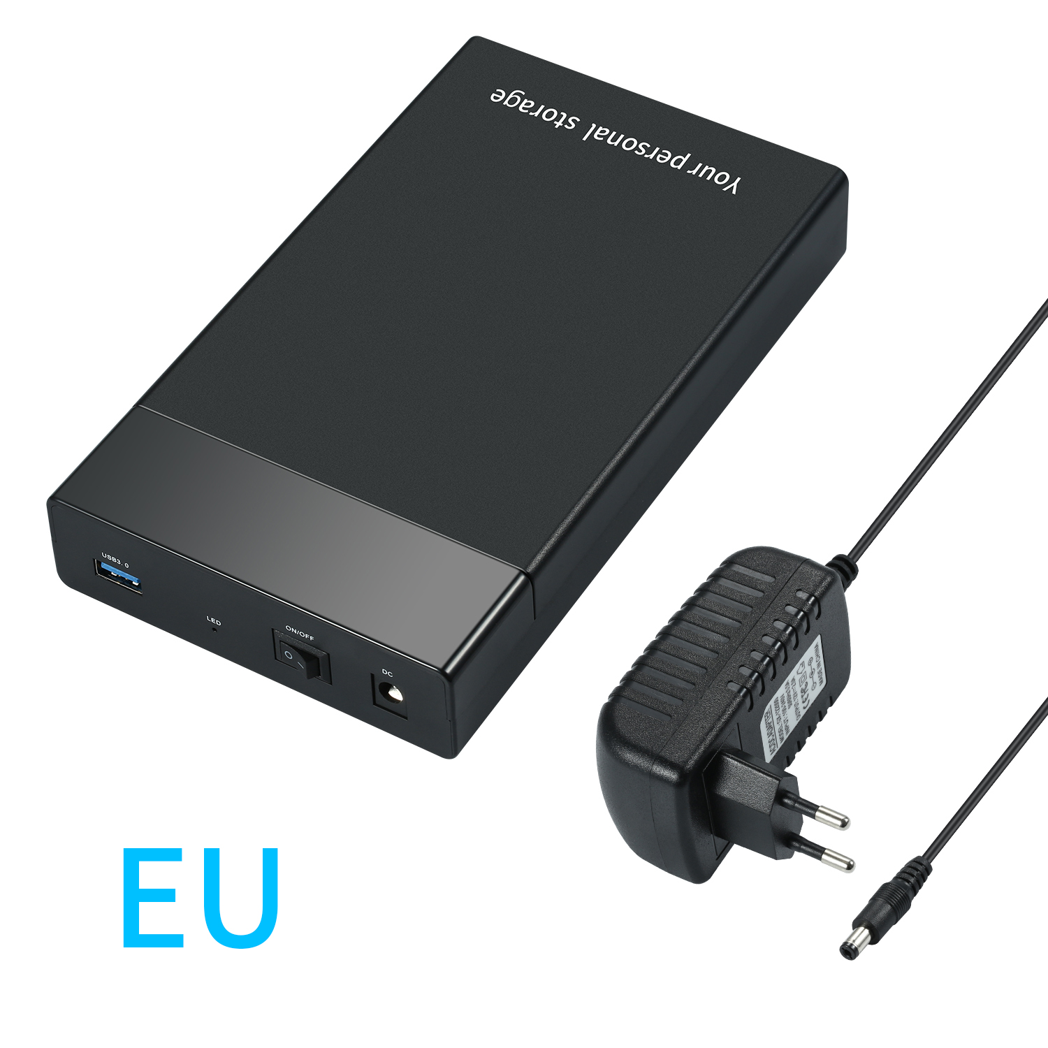 USB 3.0 to SATAIII 2.5Inch 3.5Inch Hard Drive Enclosure External 6Gbps HD SSD HDD Case for 2.5