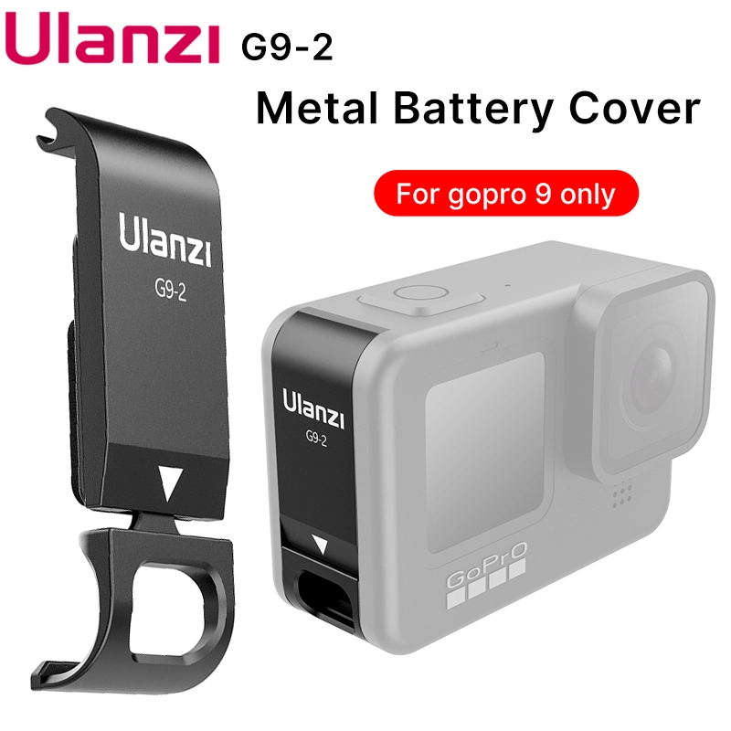 G9-2 Battery Side Cover Rechargeable Sports Camera Accessories for GoPro9 black
