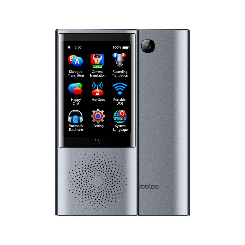 Boeleo Smart Business Voice Translator Gray