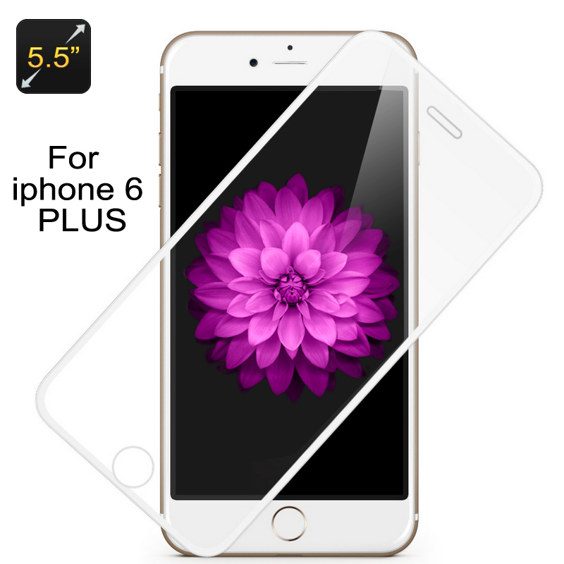 Glass Screen Protector for iPhone 6 Plus (Whi