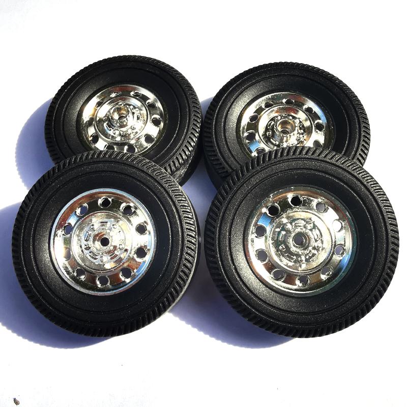 RBR/C Metal Wheel Upgrade Accessories for WPL D12 DIY Model Car A_1:16
