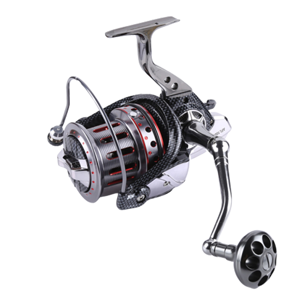 All-metal Large Fishing Reel Stainless Steel Bearings Spinning Wheel Reel Bait Casting Reel Boat Sea Fishing Wheel AFL10000