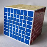 [US Direct] ShengShou®  8x8x8 8cm White Twisty Speed Cube Puzzle 8x8