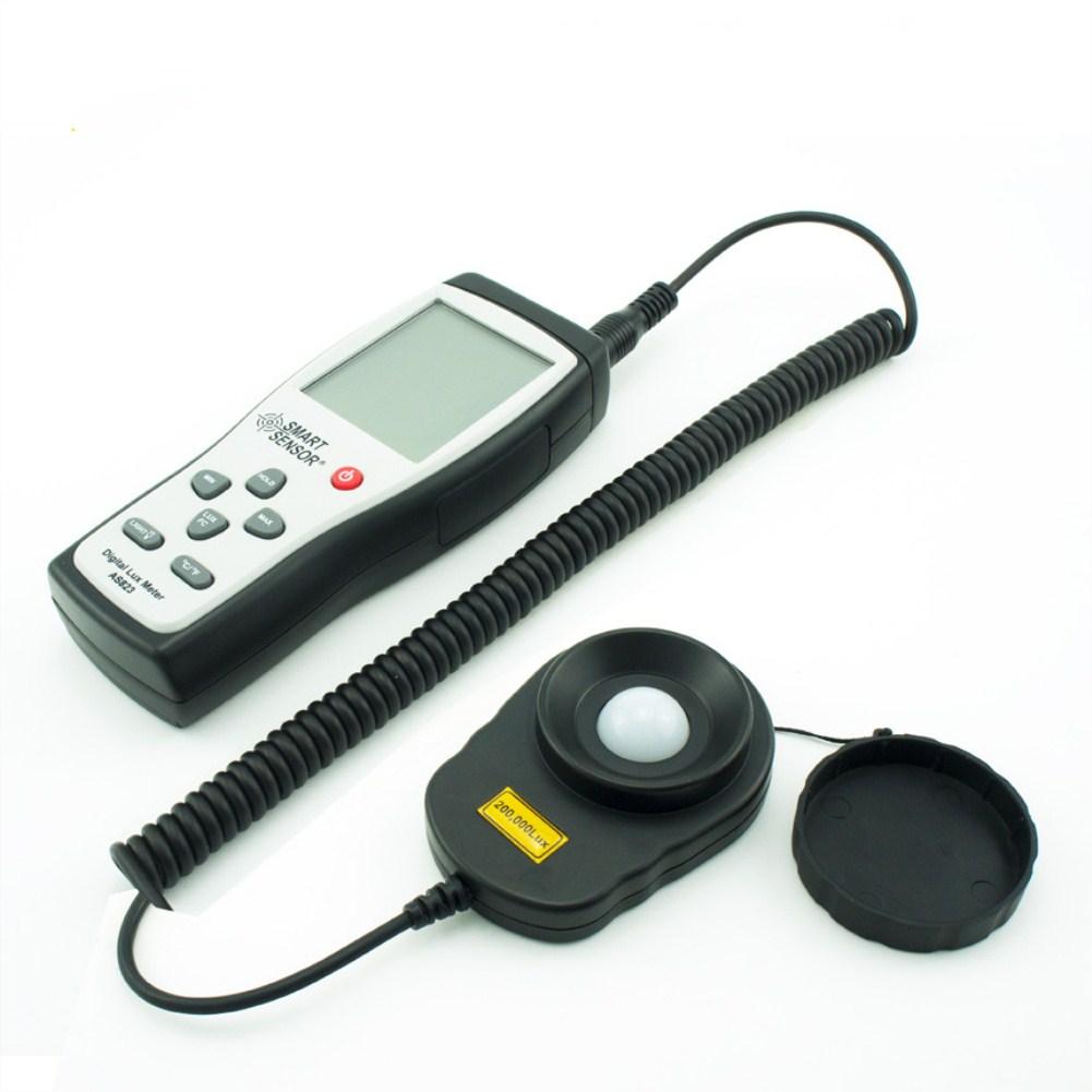 Smart Sensor Digital Lux Meter Spectrophotometer Photometer Spectrometer High Precision Light Meter 1-200.000lux Emergency Light