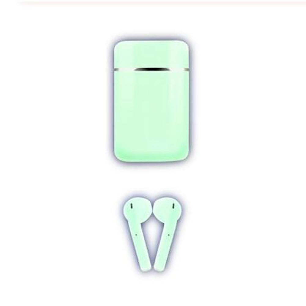 S9mini TWS Wireless Bluetooth Headset Sweet Color Mini Waterproof Headphones Sports HIFI Stereo Touch green