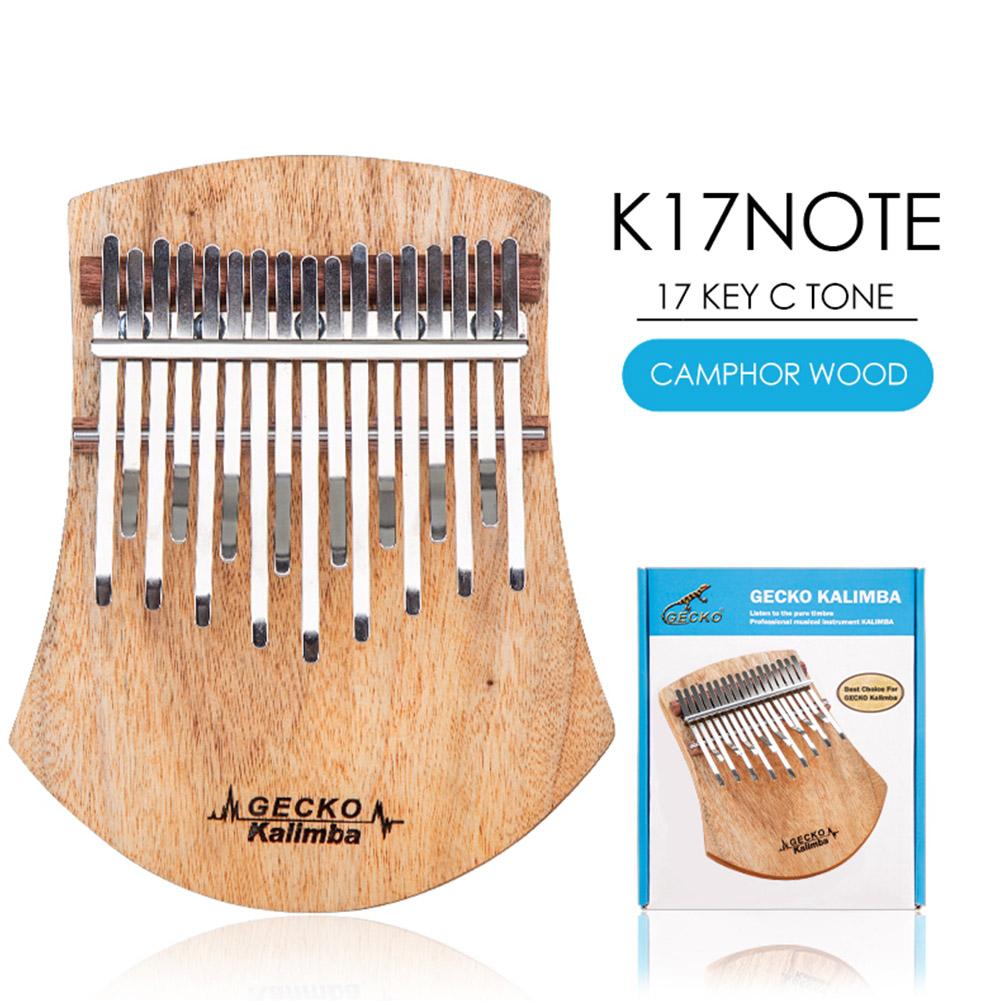 GECKO 17 Key Kalimba Thumb Piano Finger Percussion Music