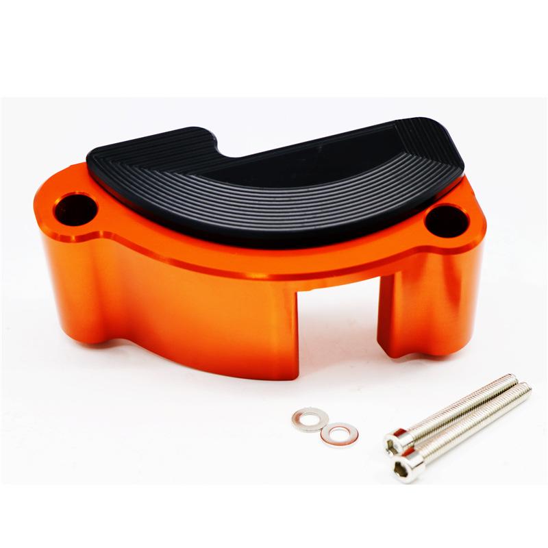 Engine Case Slider Guard Protector Cover Kit for KTM 1050 1290 ADV Orange