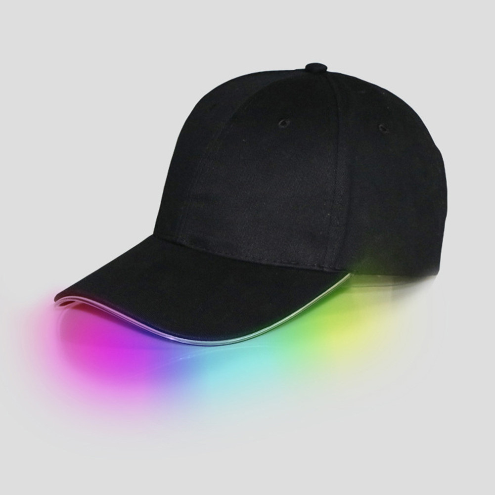 USB Charging Bright Lights LED Flashing Cap