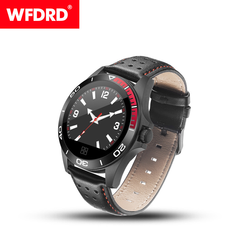 Smart Bracelet CK21 Colorful Screen Heart Rate Blood Pressure GPS Multi-function Bluetooth Sports Smart Watch black