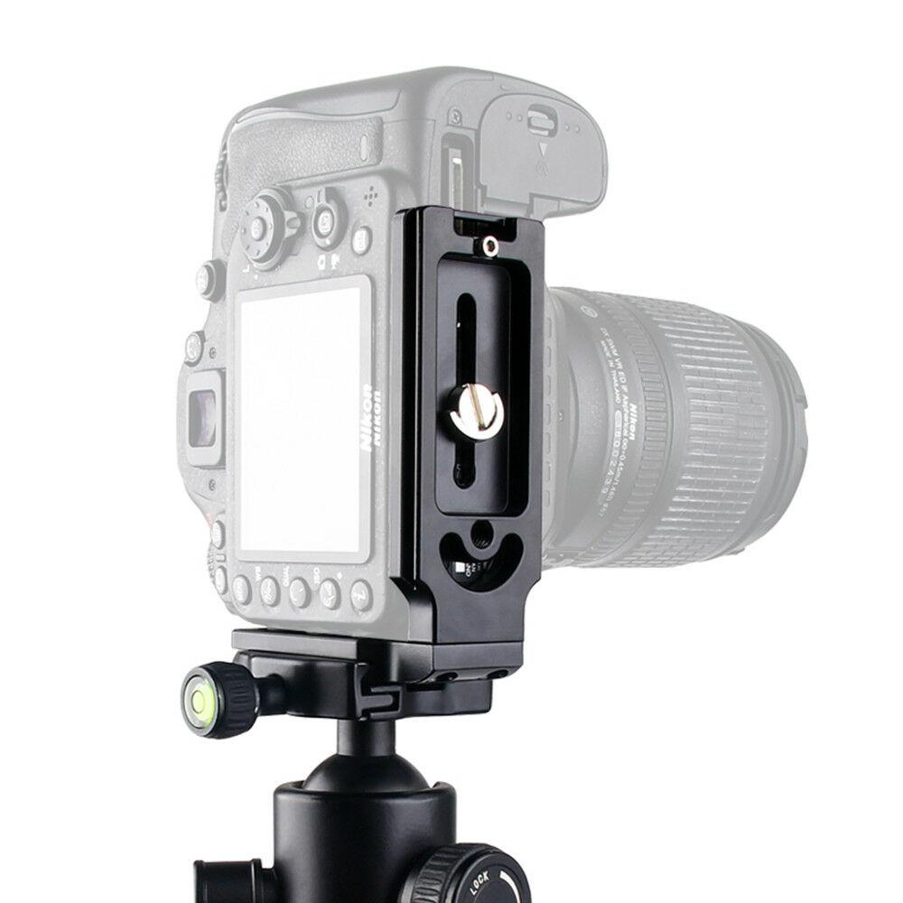 MPU105 Quick Release L Plate Bracket for Canon 70D 60Da 5Ds 6D 7D 5D Mark II/III black