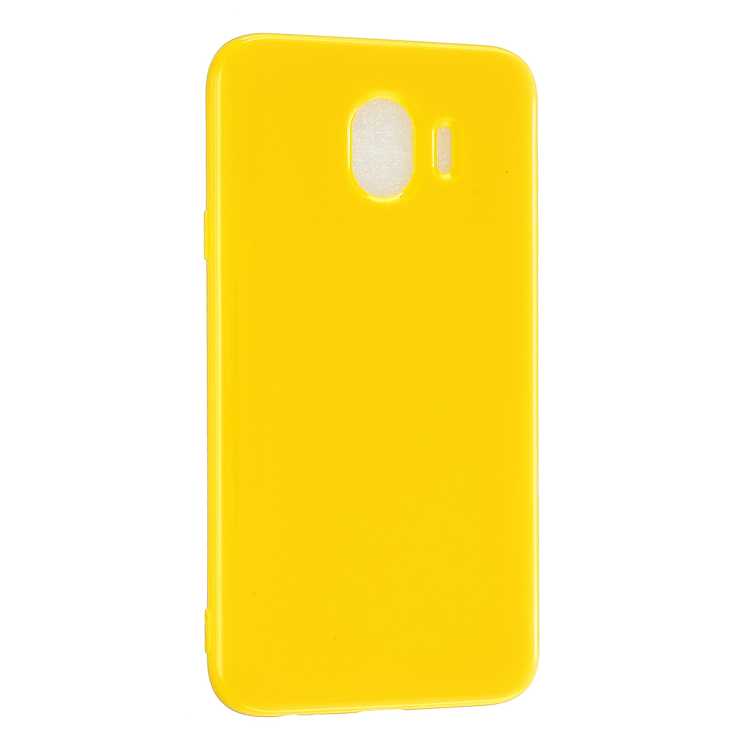 For Samsung J4 2018/J4 Plus/J4 Core/J4 Prime Protective Shell Classic Cellphone Cover Thickened Phone Case Yellow
