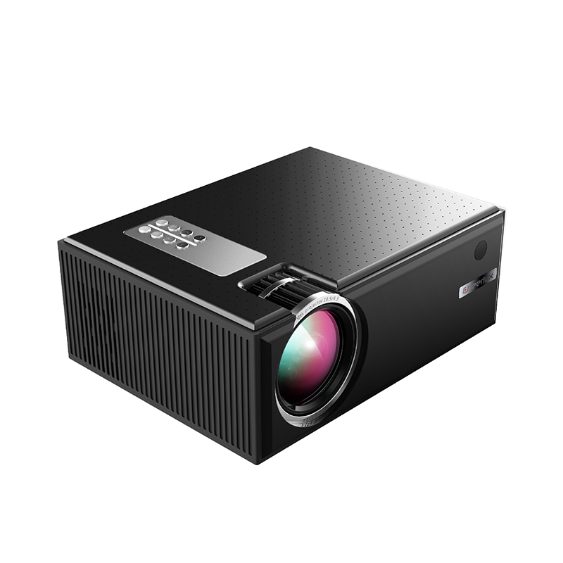 C8 Portable Android Video Projector 1280*720P Native Resolution With WIFI Bluetooth Home Cinema Movie Beamer black_European regulations