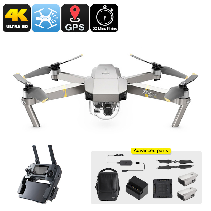 Wholesale DJI Mavic Pro Platinum Drone Combo From China