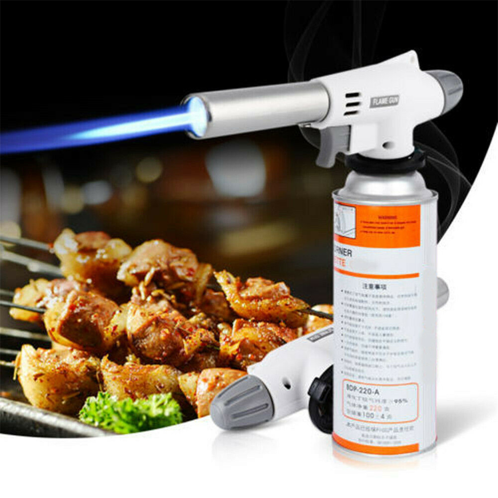 Camping Gas  Torch Welding Lighter Igniter Butane Burner Waterproof Flame Tool 920