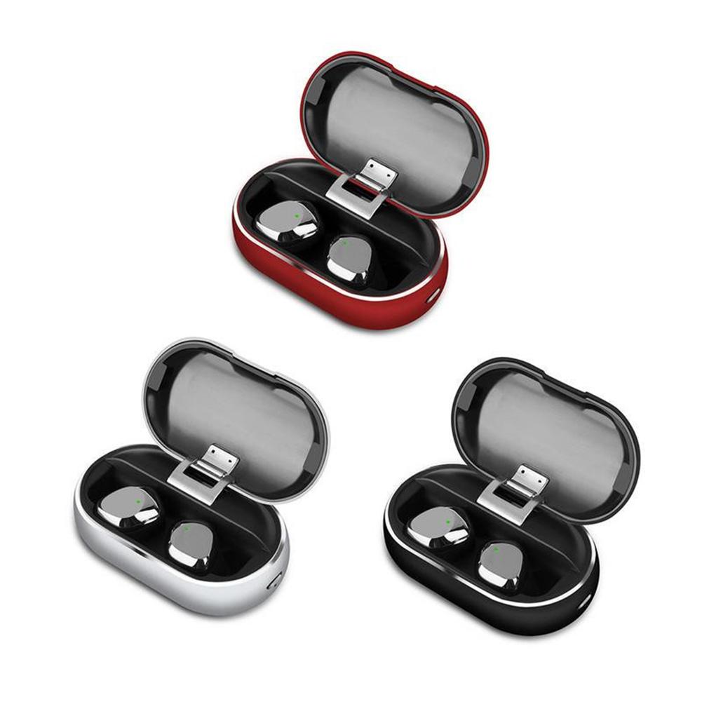 X26 Wireless Bluetooth Headset Touch Tws Binaural Sports Mini Portable In-ear Stereo Headset Silver