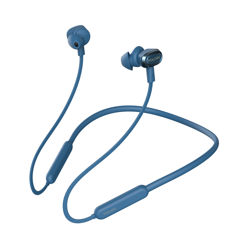 Macaw TX-80 Wireless Bluetooth Earphone_Blue