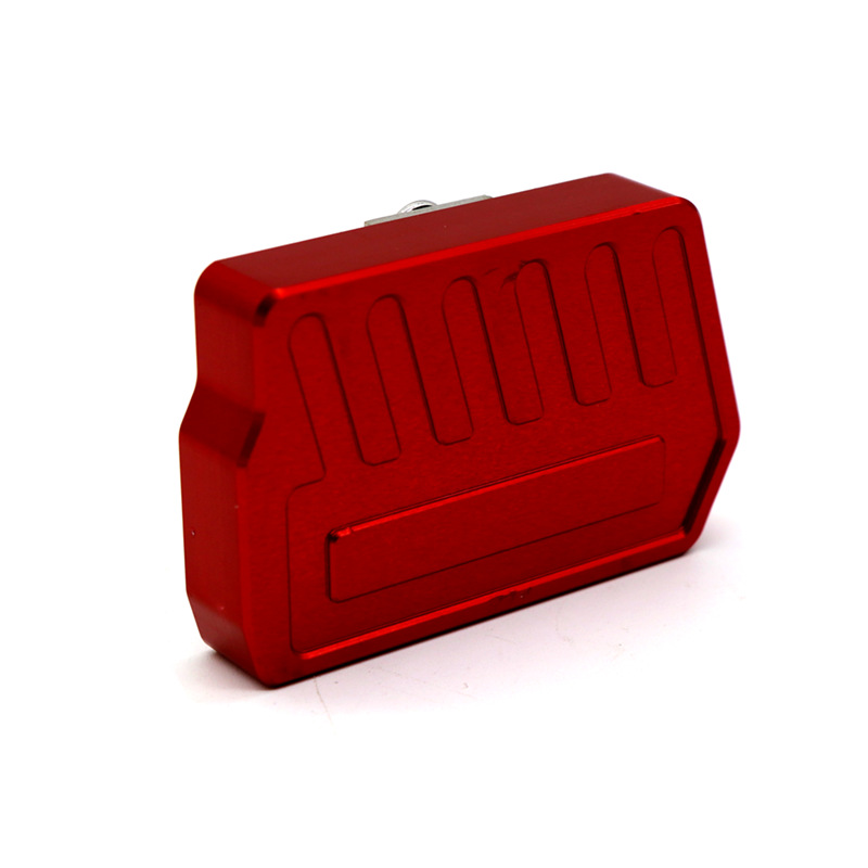 For HONDA CB400NC750S/X Motorcycle Modifications Anti-slip Brake Modified Foot Replacement Rest Refit Pedal red