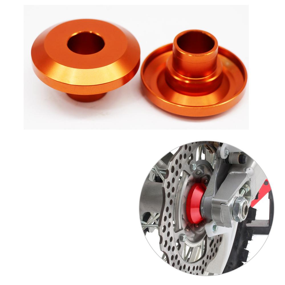 Motorcycle Modification Dirt Bike Rear Wheel Hub Spacers for KTM 125-530 SX/SX-F/XC/XC-F Orange