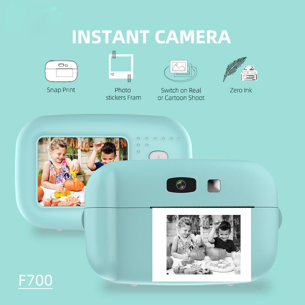 Instant Photo Camera Children's Camera Mini Toys for Polaroid Digital Small SLR Camera green