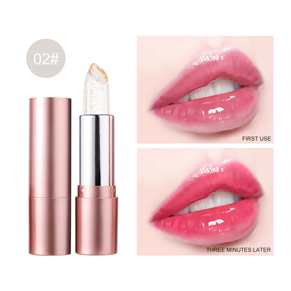 Lip Balm Non-fading Non-stick Cup Moisturizing Color Changing Lipstick Number 2
