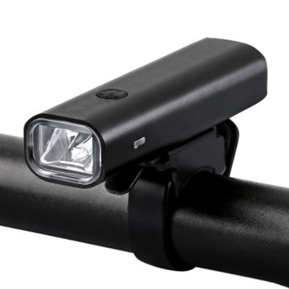 Bike Light Rainproof USB Rechargeable LED Front Lamp Ultralight Flashlight Bicycle Lamp 400 lumens black