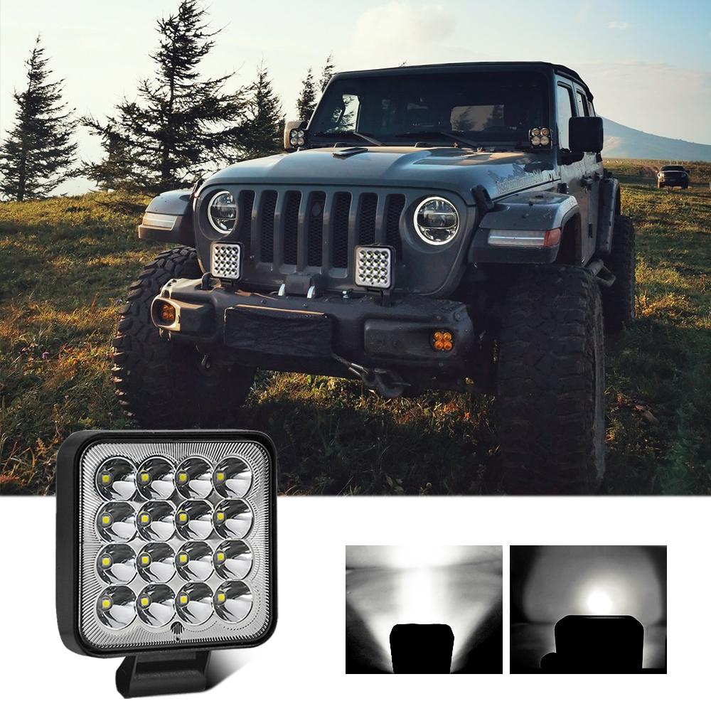Work Light 140w Aluminum Alloy 3.3-inch Mini Light Cup Waterproof Work  Light Square