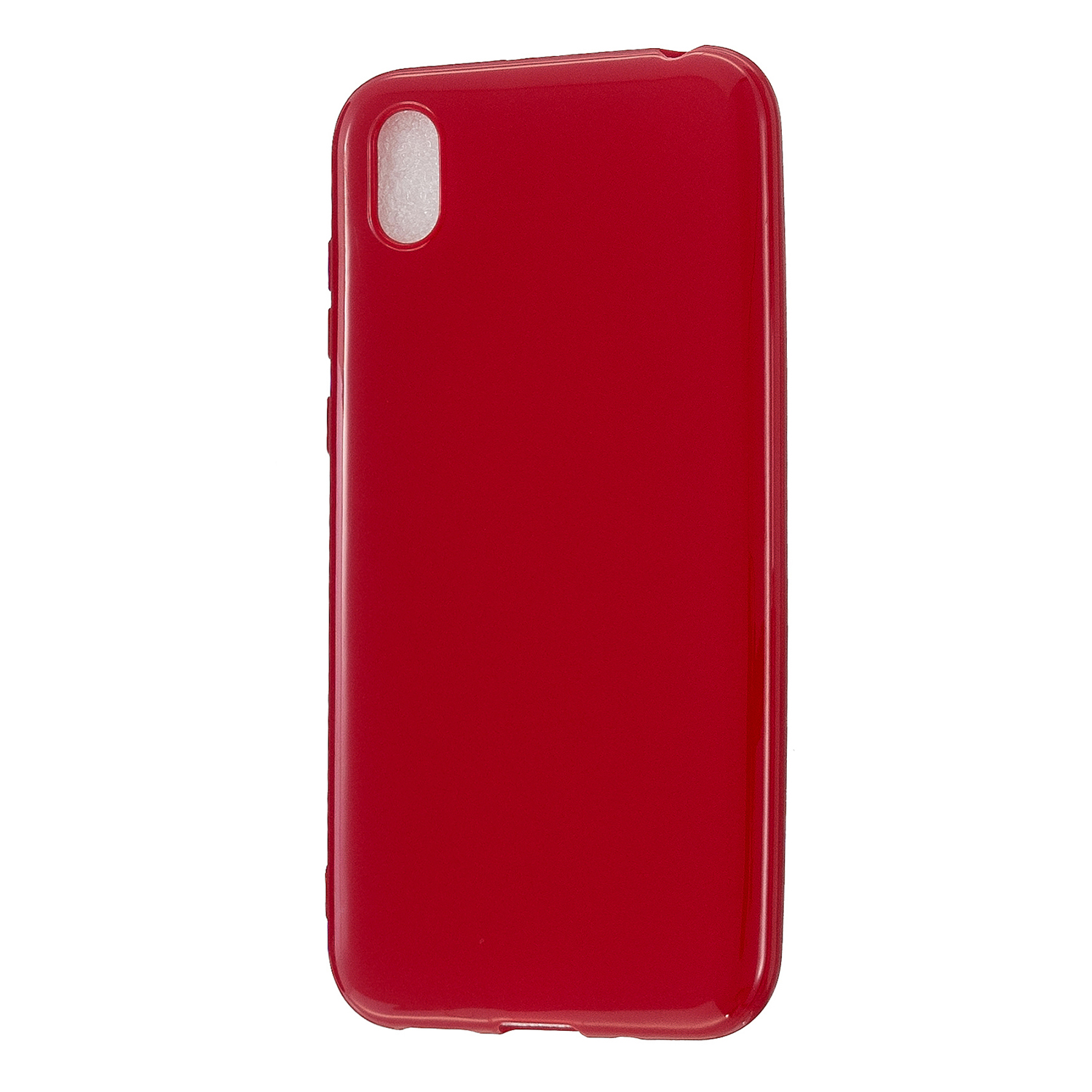 For HUAWEI Y5 2018/2019 TPU Phone Case Simple Profile Delicate Finish Cellphone Cover Full Body Protection Rose red