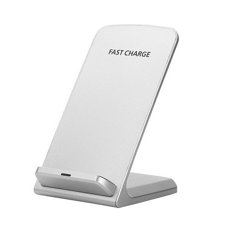 10W Standard Qi Wireless Charger white