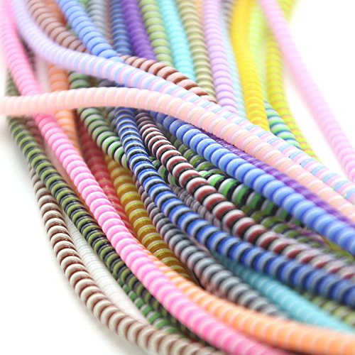 Spiral Cable Cord Earphone Wire Protectors