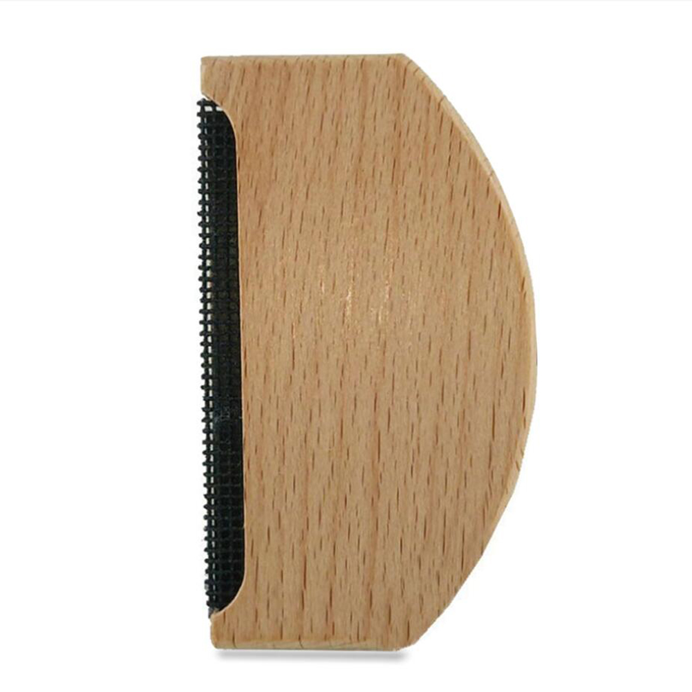 Remove Wool Hair Clipper Hair Ball Trimmer Cashmere Sweater Wooden Clothes Ball Remover burlywood