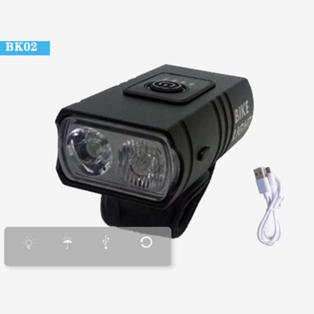 Bicycle  Headlight T6 Battery Indicator Light Safe Near High Beam Headlights Usb Rechargeable Bicycle Lights Headlight