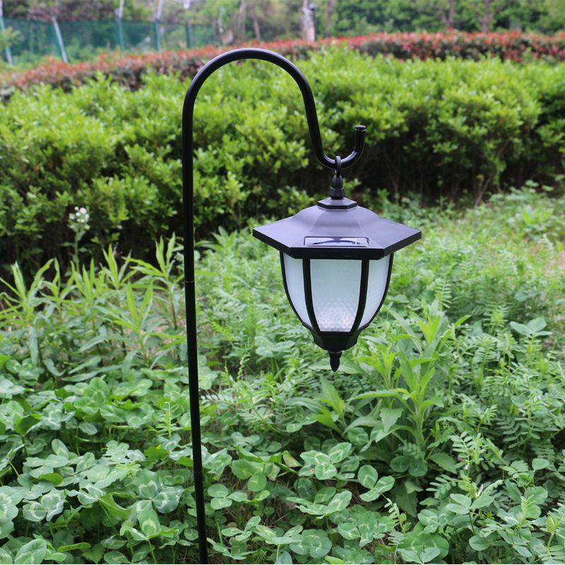 Solar Powered Lawn Light Outdoor Villa Courtyard Garden Led Lamp Landscape Decor white light