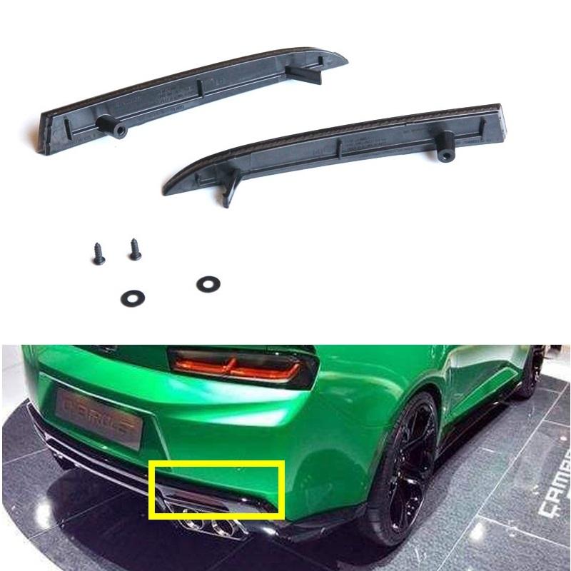 Rear Bumper Reflector Strip Suitable For Camaro 6-generation 16-20 Smoked