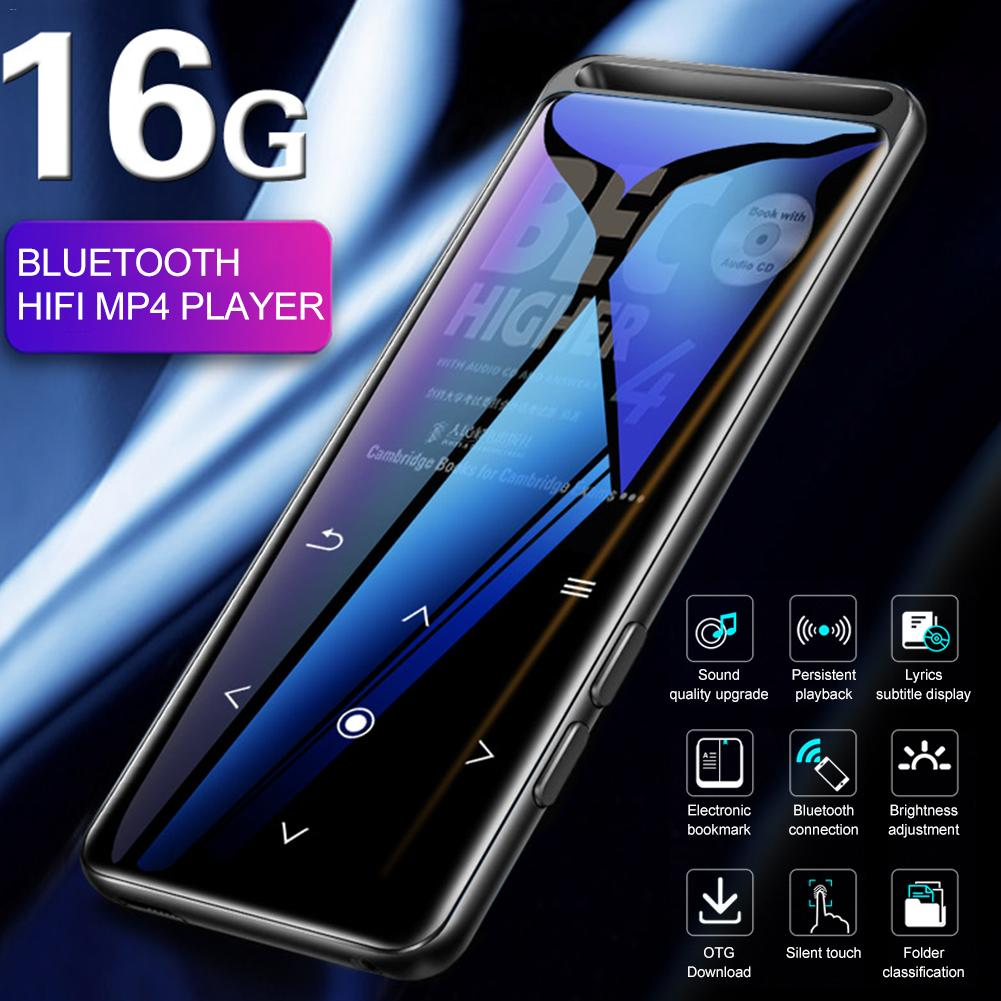 BENJIE M6 Bluetooth 5.0 Lossless MP3 Player HiFi Portable Audio Player with FM Radio E-Book Voice Recorder MP3 Music Player black