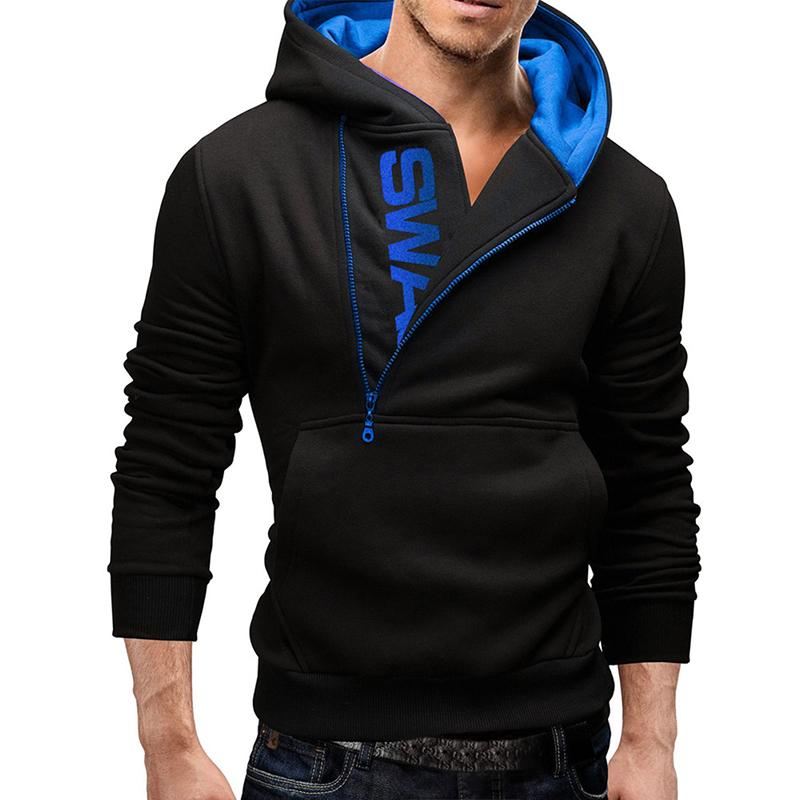 Men Fashionable Hoodie Casual Sweatshirt