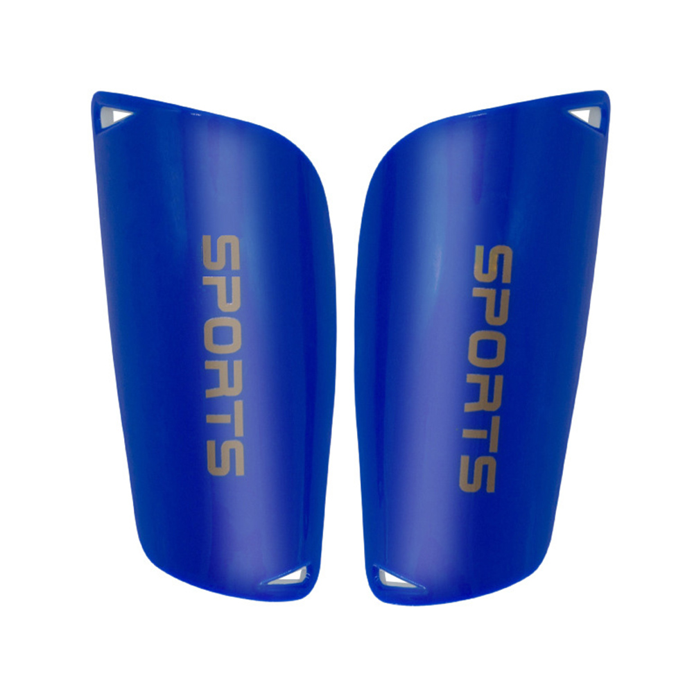 Thicker Letter Leg Supports Protector Pads ootball Soccer Shin Guards Leg Supports Protector Pads Adult models - blue