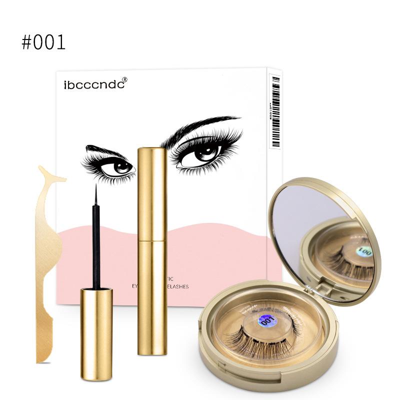 Magnetic Eyeliner Magnetic Eyeashes Kit Waterproof Long Lasting No Glue Required
