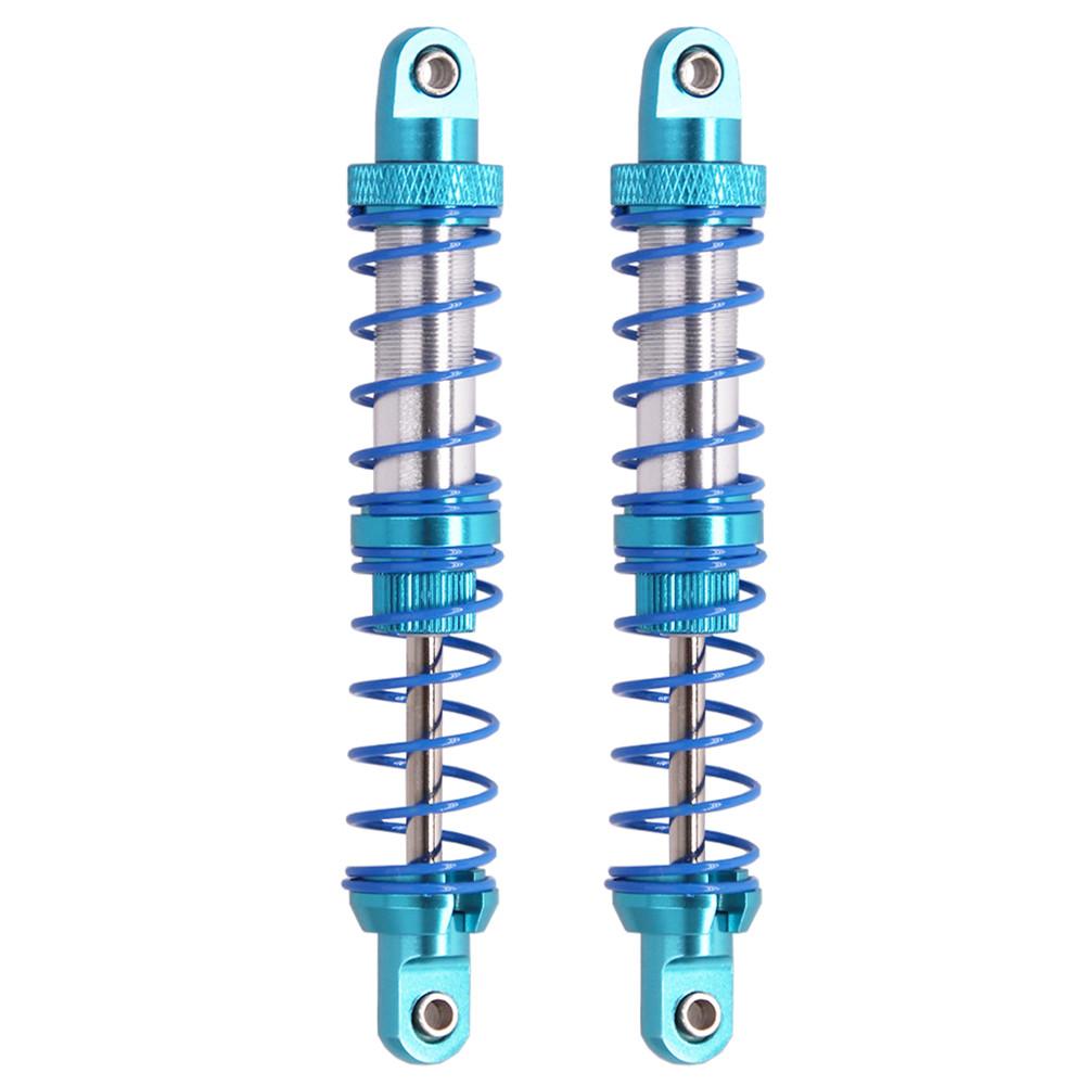 2Pcs/set CNC Metal Shock Absorber 70-120mm Oil Adjustable Damper for 1/10 RC Car Parts Truck Crawler Axial SCX10 TRX4 D90 90046 90047 90MM_2PCS