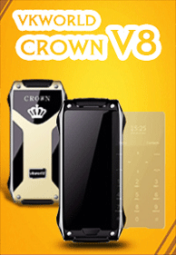VKWorld CROWN V8 IR Blaster Cell Phone