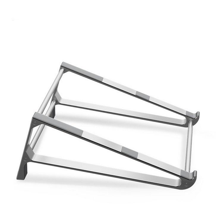 Laptop Stand Aluminum Alloy Laptop Bracket Multi-function Bracket  silver