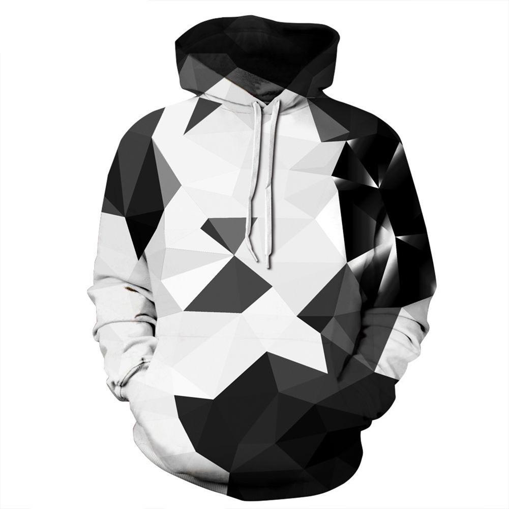 Men/Women 3D Print Hoodie Casual Long Sleeve Hooded Coat Pullover Graphic Tops QYDM273_L/XL