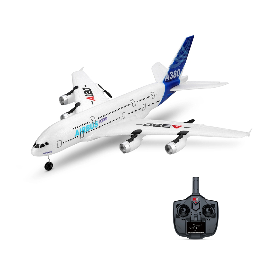 RC Airplane With Mode 2 Remote Controller
